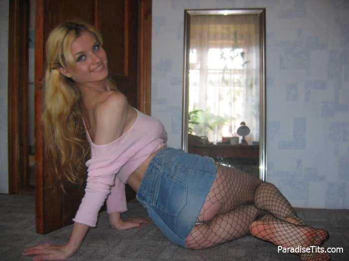 Домашнее порно фото жгучей блондинки и её парня из Питера
