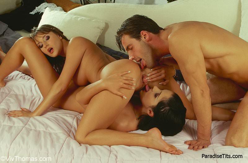 секс девушка и 2 парня бесплатно