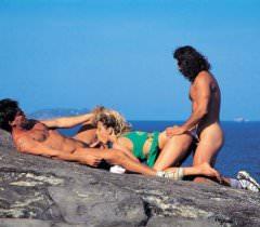 Крутая подборка ретро порно фото группового секса