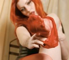 Классные порно фото знойной рыжей барышни