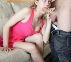 На фото страстные любовники занимаются классическим сексом с минетом и спермой