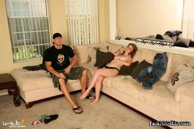 Страстная девка и пылкий парень занимаются еблей на порно фото